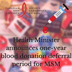 Health Minister announces one-year blood donation deferral period for MSM (1)