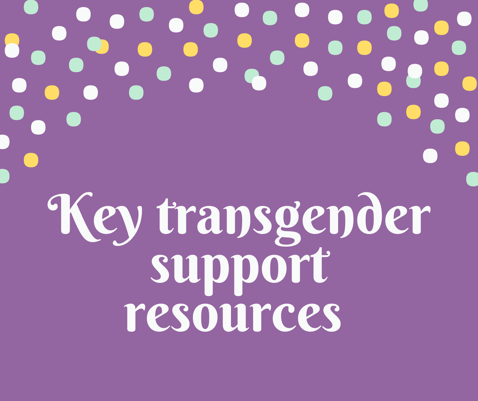 Key Transgender support resources - Canadian AIDS Society