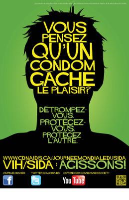 2011 : Agissions! Vous pensez qu'un condom gâche le plaisir?